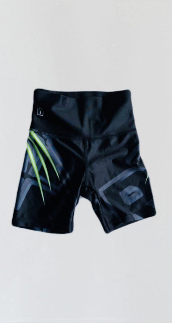 high waisted bike shorts